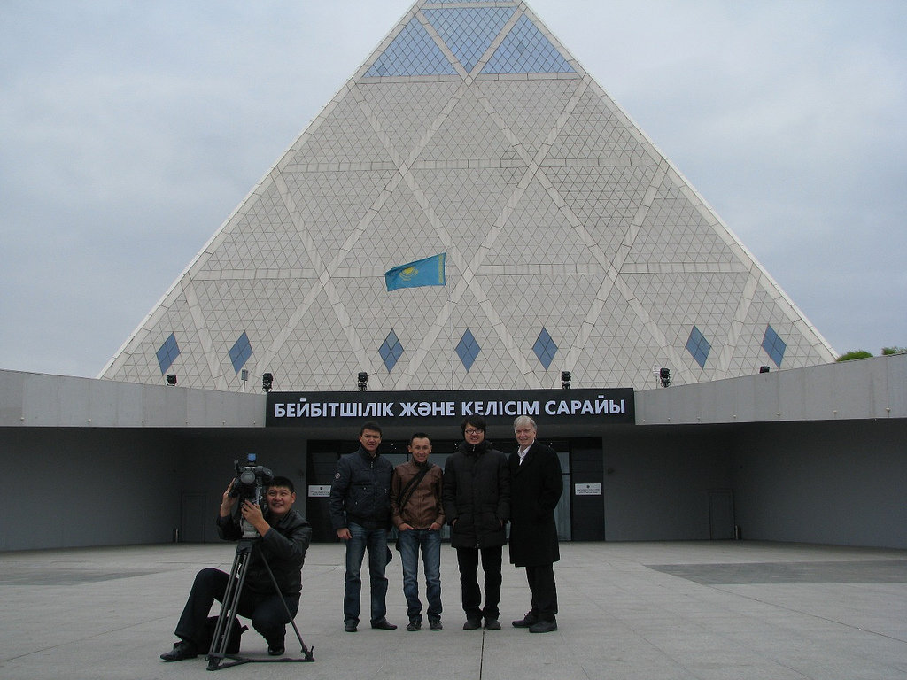 The main attraction of Astana is the Palace of Peace and Harmony