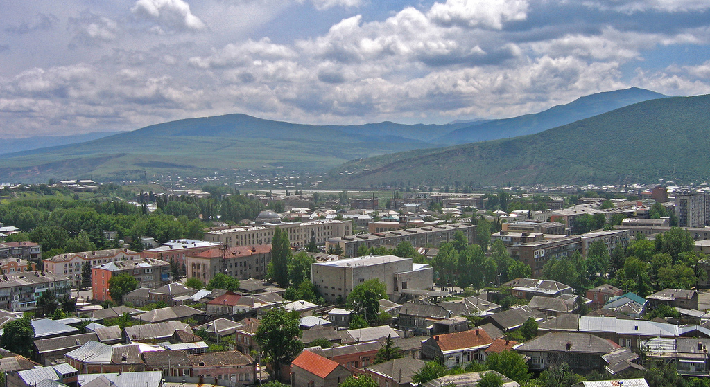 The Town of Gori, Georgia (Birthplace of Joseph Stalin)