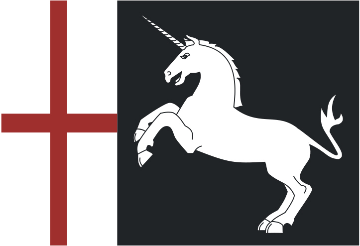 Flag of Georgia during the reign of David the Builder