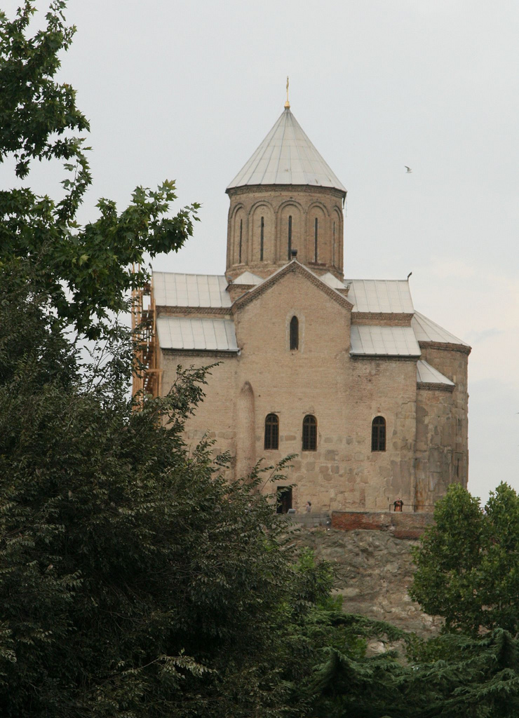 The Armenian Cathedral of St George in Tbilisi.