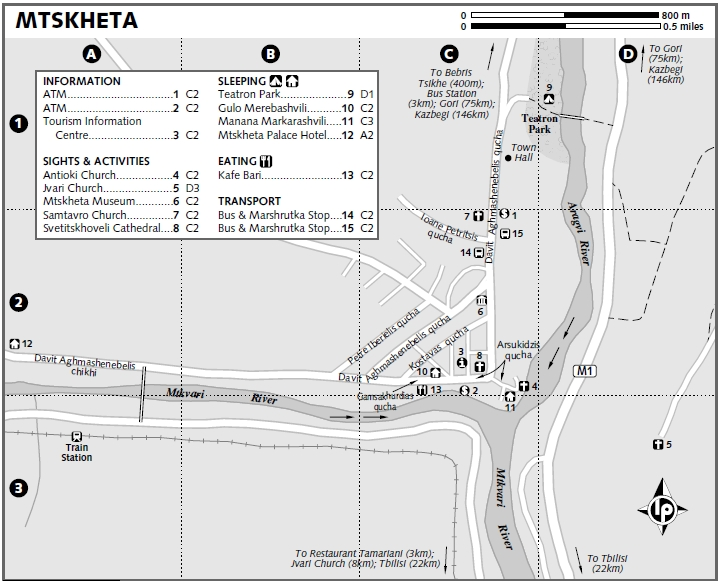 Mtskheta map