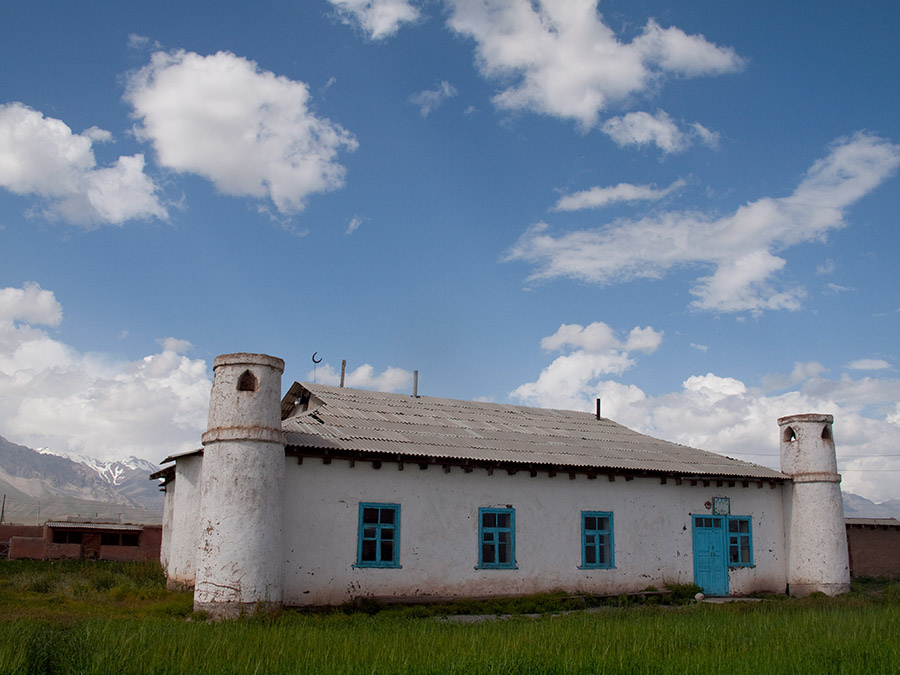 Local mosque in ary Mogol village