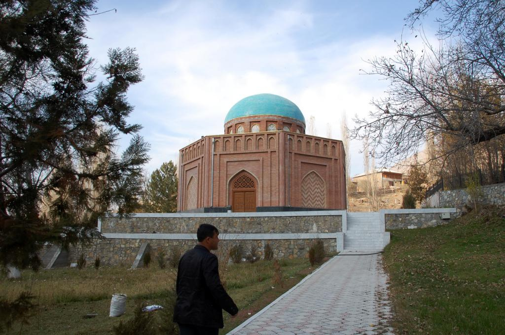 Rudaki mausoleum