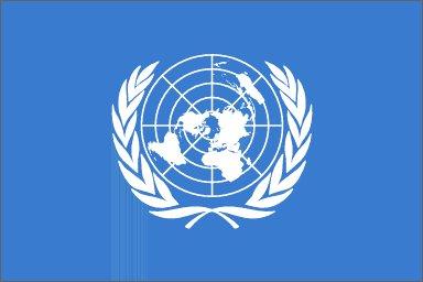 Flag of UN